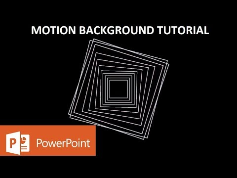 Rectangles illusion | Motion Backgrounds | PowerPoint 2016 Tutorial | The Teacher