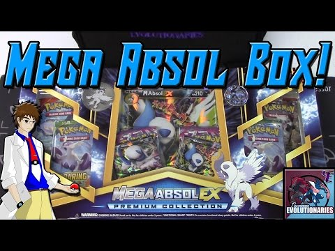 Pokemon Cards- Mega Absol EX Premium Collection Box Opening!