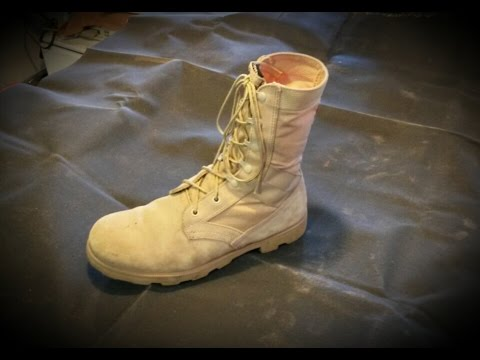 HOW TO CLEAN TIMBERLAND BOOTS, CATERPILAR, ALTAMA, SUEDE / NUBUCK BOOTS OR SHOES
