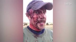 Montana man posts bloody Facebook video following grizzly bear attack