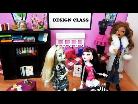 How to Make Doll Design Class Supplies - Recycling - Doll Crafts - simplekidscrafts