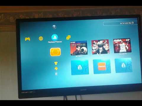 How to set a password for ps3