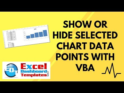 Show or Hide Selected Chart Data Points in Excel with VBA