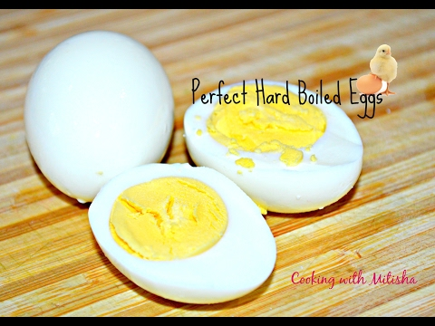 How To Boil Eggs - Perfect Hard Boiled Eggs | How To Make Easy-Peeling Hard-Boiled Eggs