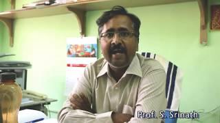 Prof. S. Srinath || Science Day Wishes || University Of Hyderabad