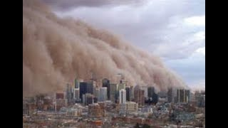 """""""Breaking LIVE"""" Massive Dust Storms Cross The Atlantic Ocean Hits United States"""""""