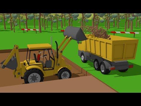 Xxx Mp4 Excavator And Truck Dump Truck And Concrete Mixer Truck Street Vehicles Maszyny Budowlane 3gp Sex