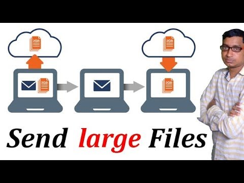 How to send big files from mobile?