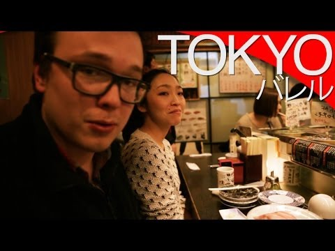 Sushi bar w Japonii [Tokio] // Sushi in Japan