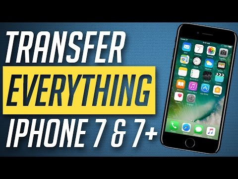 How to Transfer Everything from old iPhone to iPhone 7 / iPhone 7 Plus