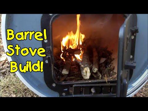Barrel Wood Stove Build