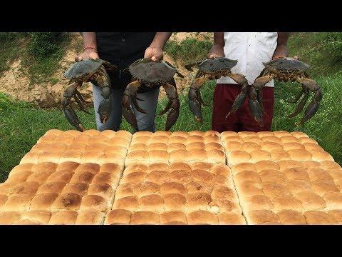 Mouth Watering pav bhajis - Big Crab Pav Bhaji - Crab Pav Bhaji