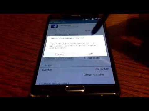 Galaxy Note 4 Tutorials - How to turn off notifications