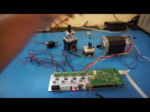 Raspberry Pi Stepper Motor Driving: SlushEngine
