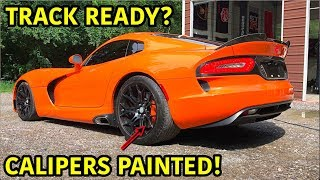 Wrecked Dodge Viper TA Looks Better Than Ever!!!