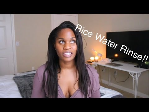 Rice Water Rinse For Growth?! ~ Withlove_Lisa