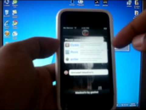Blacksnow and Blackra1n - Jailbreak and Unlock for iPhone 3gs/3g on 05.11.07 Baseband