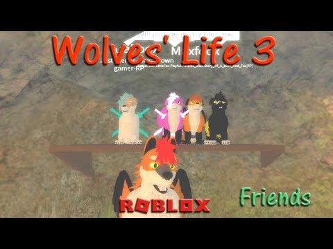 Roblox - Wolves' Life 3 - Friends XIV - HD