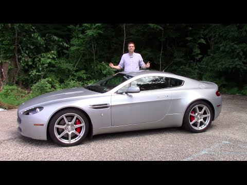 Here's What It Costs to Own a Used Aston Martin