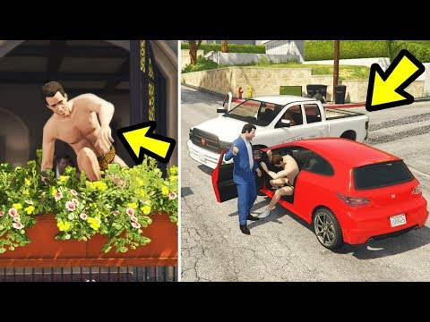 What happens if you catch the Tennis Coach? (GTA 5)