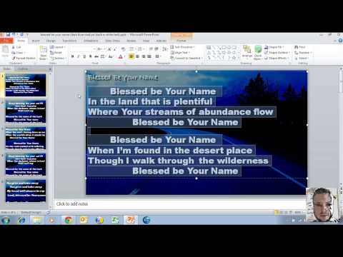 DIY: How to change a presentation from 4:3 to widescreen 16:9 in PowerPoint 2010