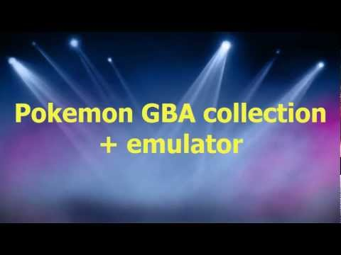 Game Boy Advance Emulators (GBA) And Pokemon Games Collection