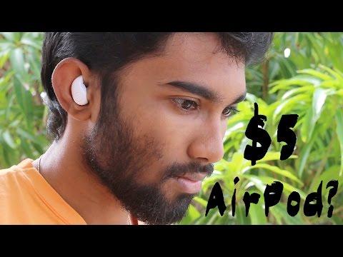 UNBOXING : $5 Mini Wireless Bluetooth Earpods (Cheaper Airpod?)