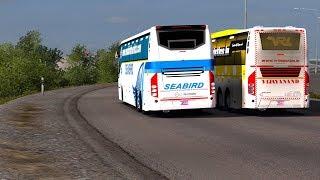 🔴 Risky Bus Overtaking in Bangladesh Highway Road