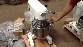 Pizza Dough Mixer 10 Liters 15 Liters Quart With Guard Ce Gear Transm
