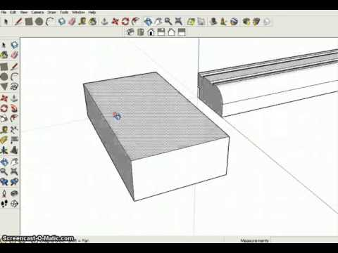 Sketchup: Cutting a Picture Frame