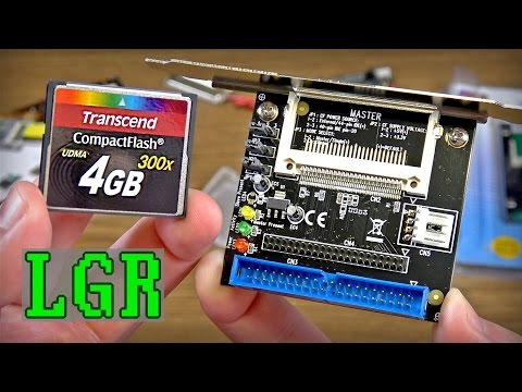 LGR - 486 Update! Installing CompactFlash Storage