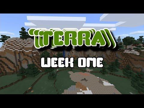 Minecraft Server - Terra - Episode 2 - Week One