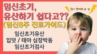 (하안유산후조리원/ENG SUB) 임신8주 진료가이드 Pregnancy 8 weeks Treatment Guide.