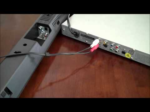 How to Connect a DVD audio to a Soundbar