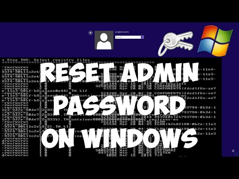 Reset Administrator password on Windows with Offline NT Password