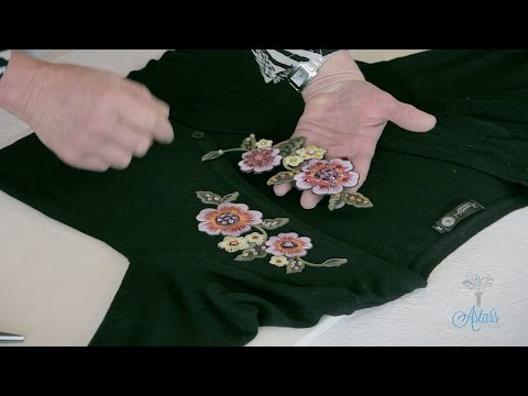 Sewing Tutorial: How to do basic Clothing Applique