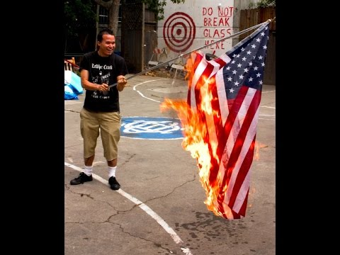 Freedom Of Speech & Desecrating The American Flag