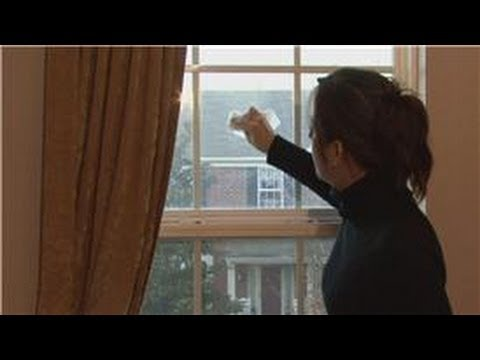Housekeeping Tips : How to Remove Small Scratches From Window Panes