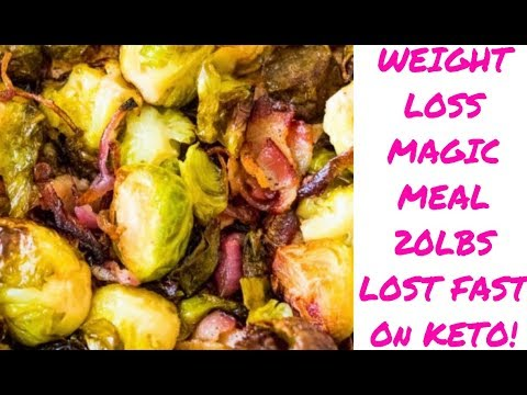 Keto Weight Loss Magic Meal - Best Bacon & Brussel Sprouts!!!