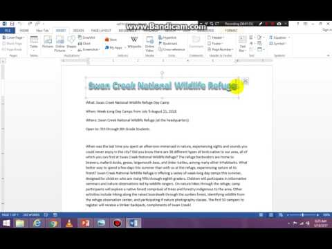 Introduction to Word Part 2