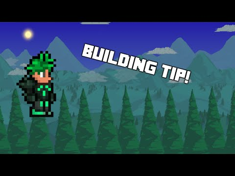 [How To Terraria] - How to build QUICKLY upwards!