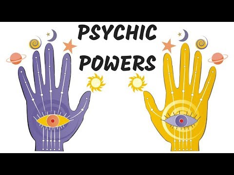 SIGNS OF PSYCHIC POWERS/ABILITIES IN YOUR HANDS?-PALMISTRY