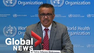 Coronavirus outbreak: World Health Organization provides update on COVID-19 pandemic | FULL