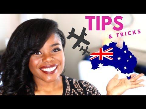TRAVEL TIPS   TRAVELING TO AUSTRALIA