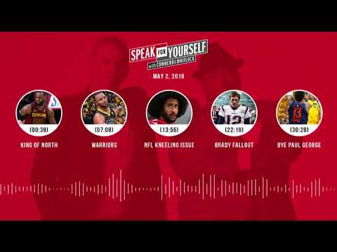SPEAK FOR YOURSELF Audio Podcast (5.2.18) with Colin Cowherd, Jason Whitlock | SPEAK FOR YOURSELF