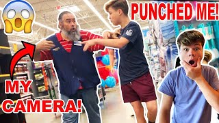 CONFRONTING THE WALMART EMPLOYEE THAT PUNCHED ME...