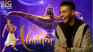 Download Mena Massoud on playing Aladdin, loving Abu, and Will Smith's interesting hair choices Video
