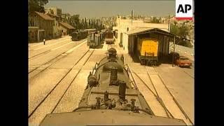 JORDAN: NEW AMMAN TO DAMASCUS EXPRESS TRAIN