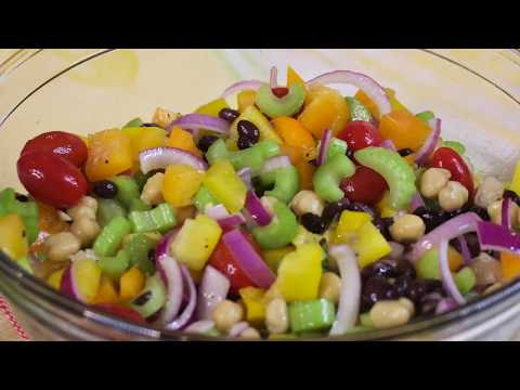 Sunday Night Celery and Red Onion Salad - The Produce Mom