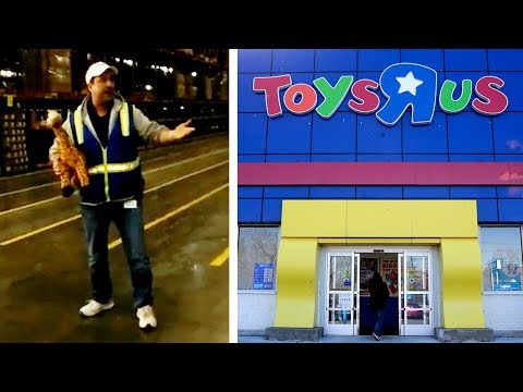 Toys R Us boss sends off workers with new take on jingle